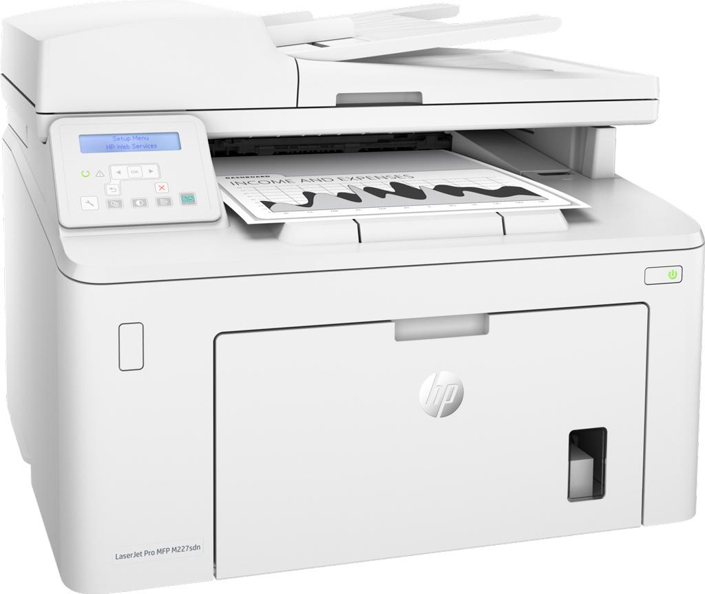 Máy in cũ HP Laserjet Pro MFP M227SDN-G3Q74A