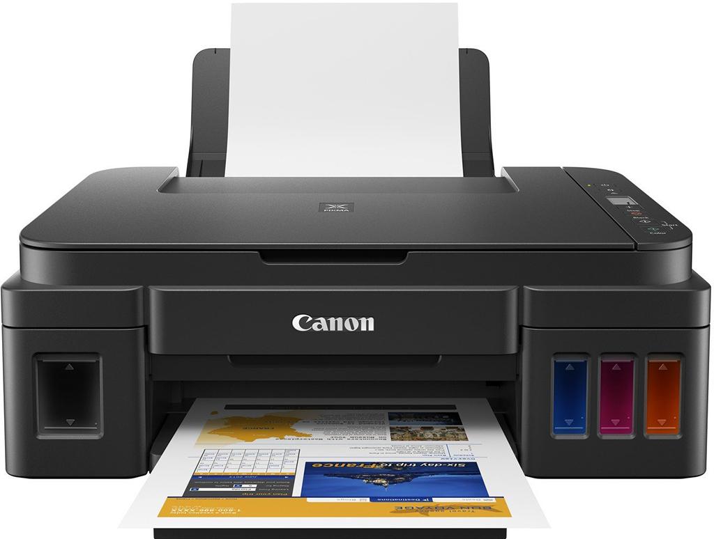 Bán máy in màu cũ Máy in phun màu đa năng Canon Pixma G2010
